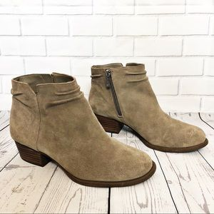 Jessica Simpson Suede Dallyn Booties